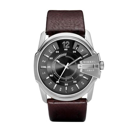 Diesel DZ1206 Master chief brown leather men`s watch