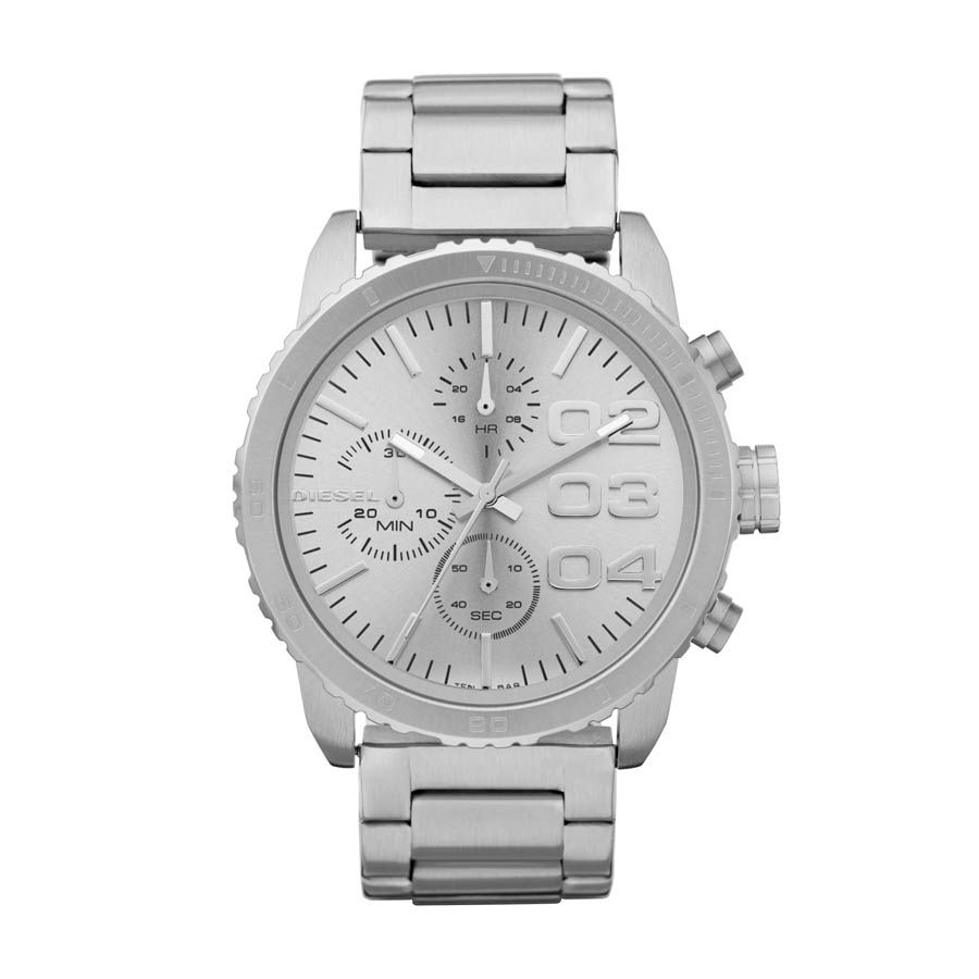 DZ5301 silver stainless steel unisex watch