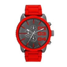 Dz4289 double down mens red bracelet watch