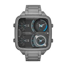 DZ7284 Square Daddy Gunmetal Mens Bracelet Watch