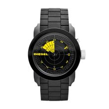 DZ1605 FRANCHISE black silicone mens watch