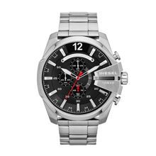 Diesel Dz4308 chief mens silver bracelet watch