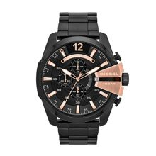 DZ4309 Mega chief black mens bracelet watch