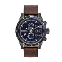 DZ4312 Franchise brown leather mens watch