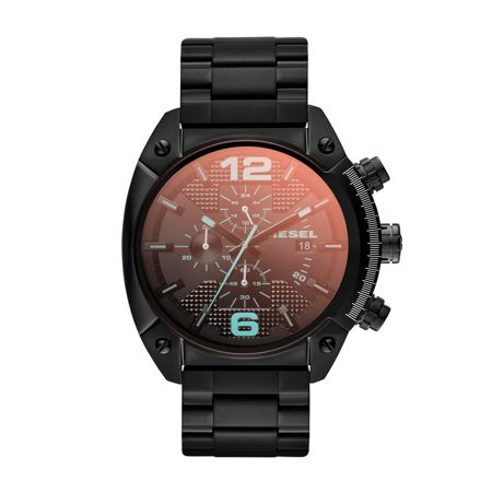 Diesel DZ4316 Overflow black mens bracelet watch