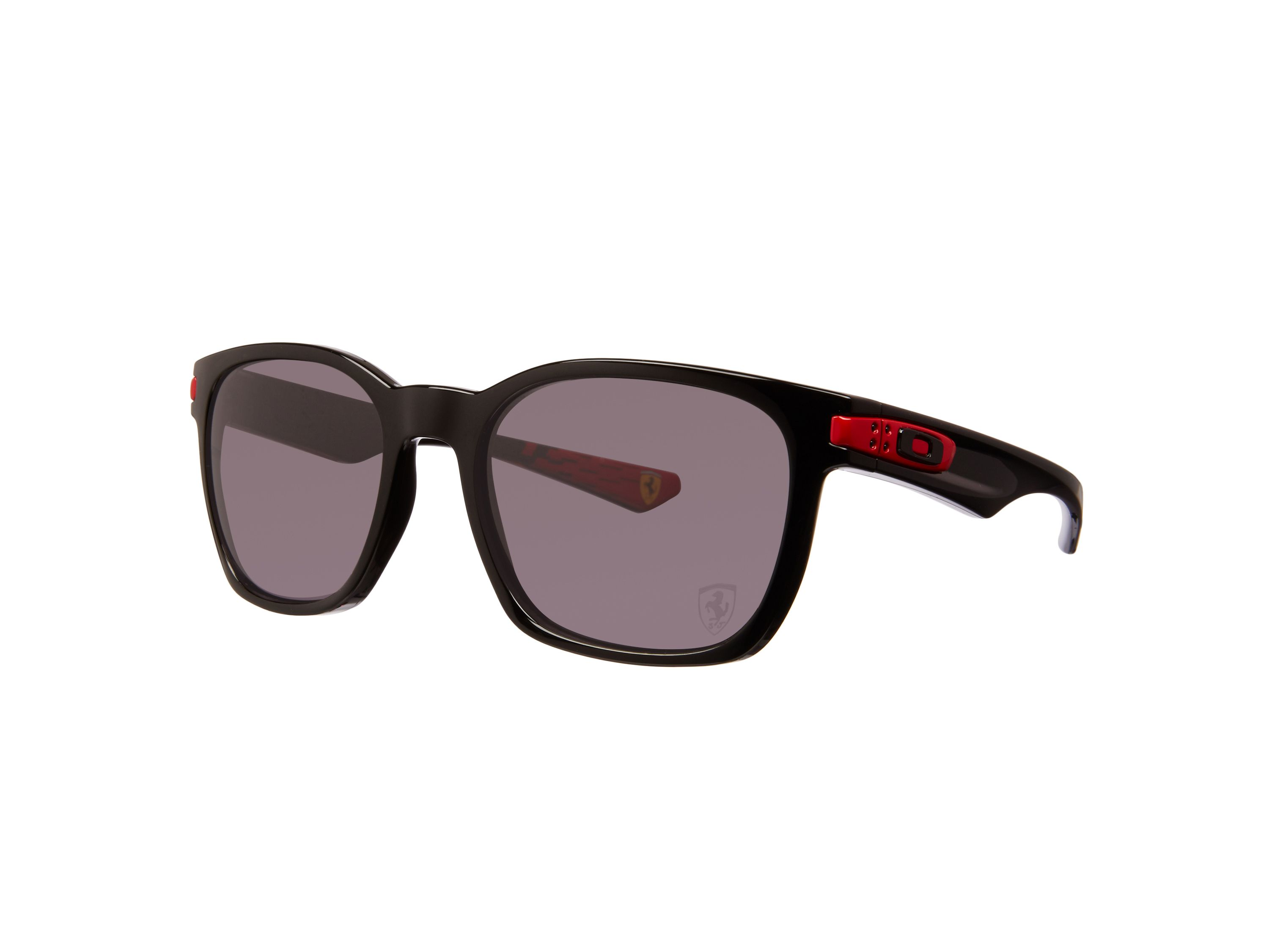 Men warm grey rectangle sunglasses