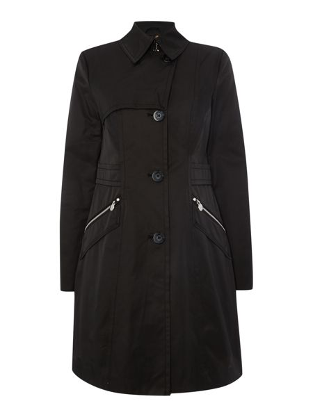 Dawn Levy Cotton Trench Coat