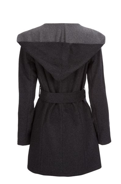 Dawn Levy Funnel Neck Collar Jacket