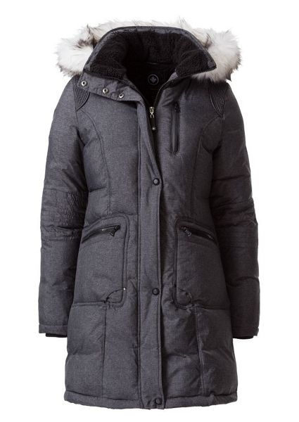 Halifax Traders Quilted jacket with faux fur hood