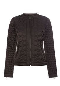 Quilted zip jacket