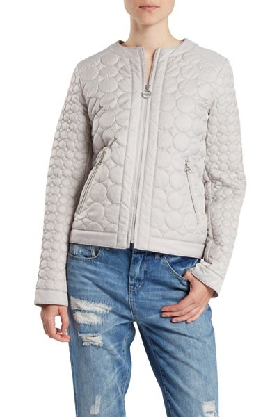 Dawn Levy Quilted Zip Jacket