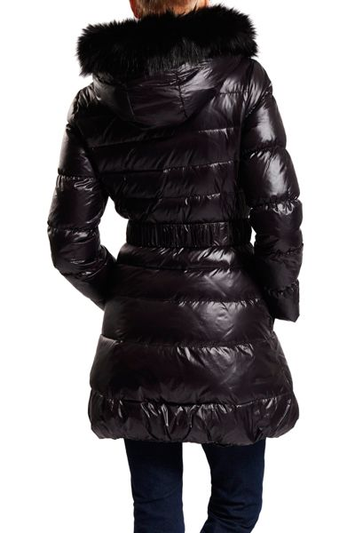 Dawn Levy Quilted 3/4 Length Jacket