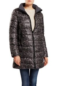 Revisible 3/4 length coat