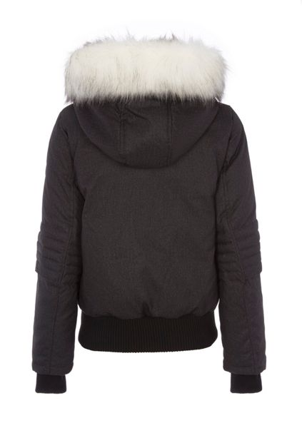 Halifax Traders Faux Fur Hooded Down Jacket