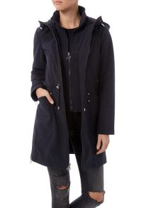 Dawn Levy Super softshell hooded jacket