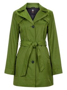 Halifax Traders Cotton hooded belted jacket