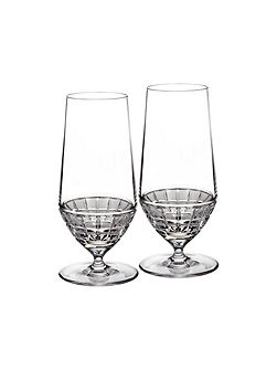 London collection beverage glass pair