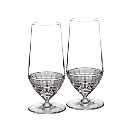 Waterford London collection beverage glass pair