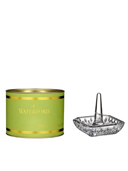 Waterford Giftology lismore square ringholder - lime giftbo