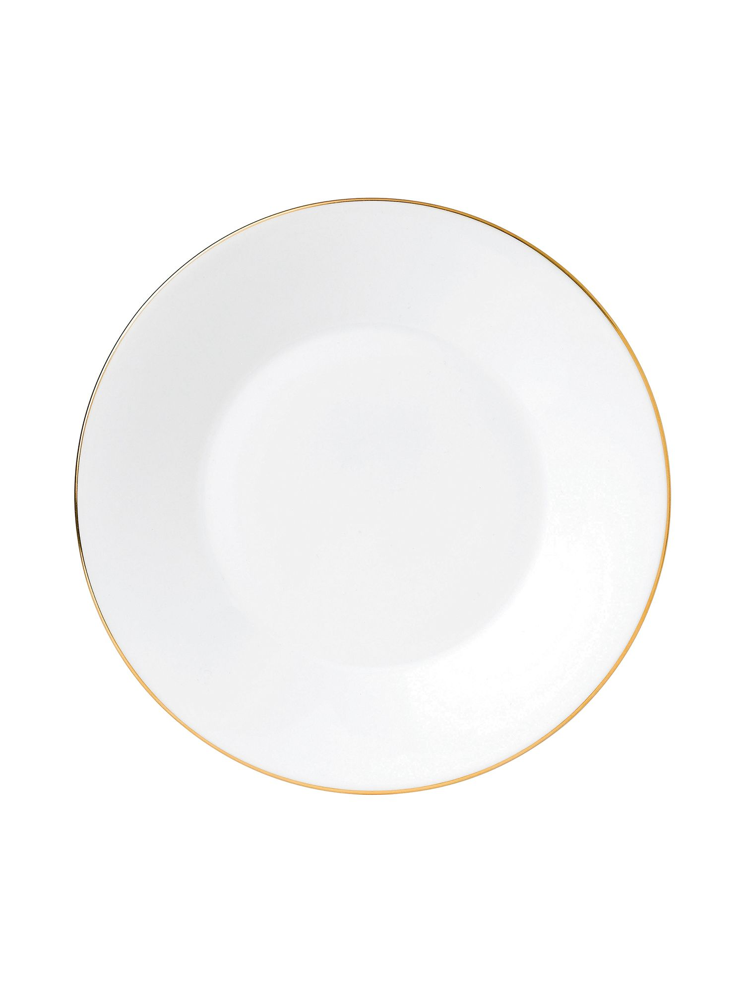 Jasper conran bone china gold tipped plate 23cm