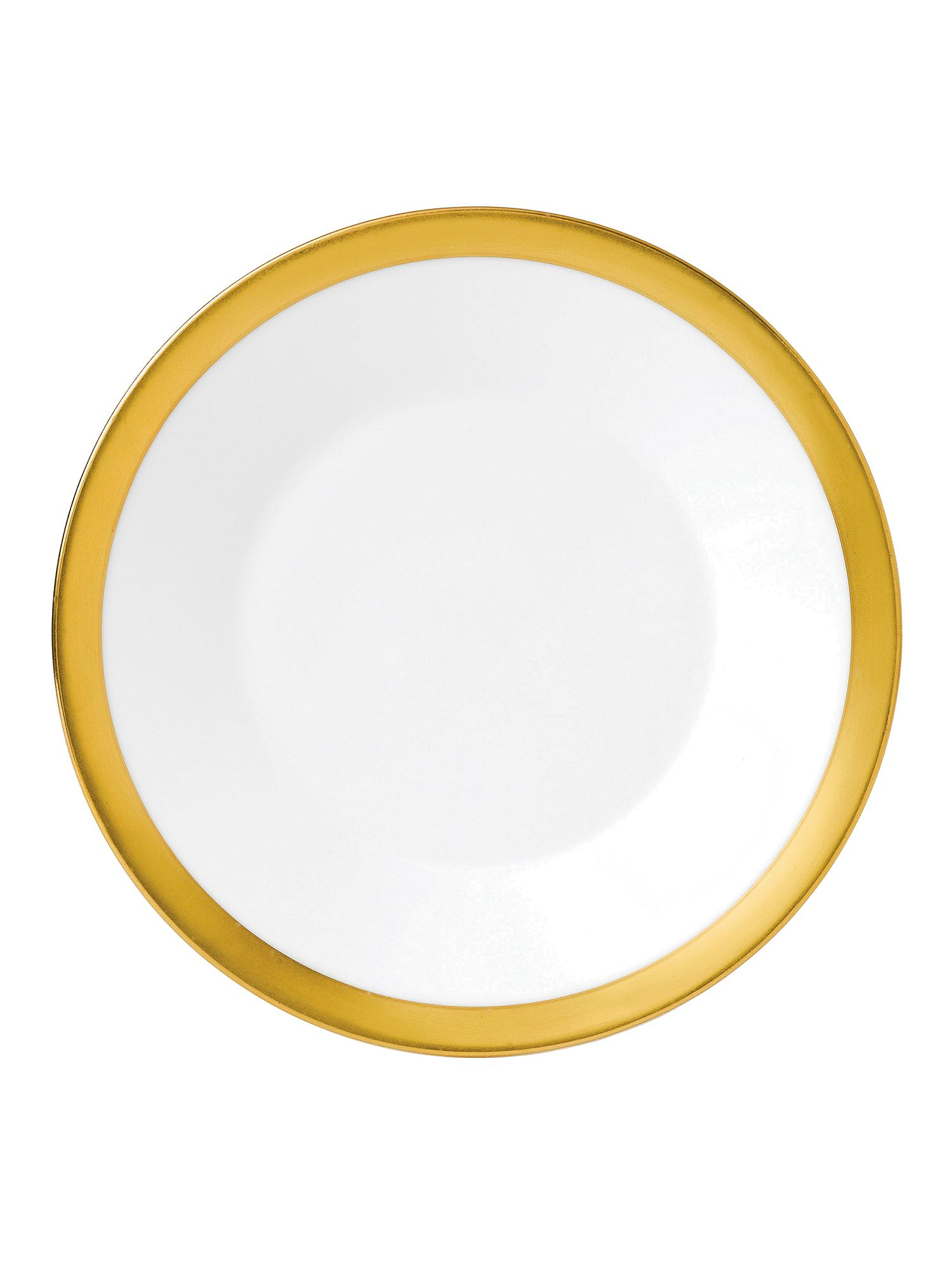 Jasper conran bone china gold banded plate 18cm