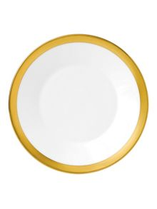 Wedgwood Jasper conran bone china gold banded plate 18cm
