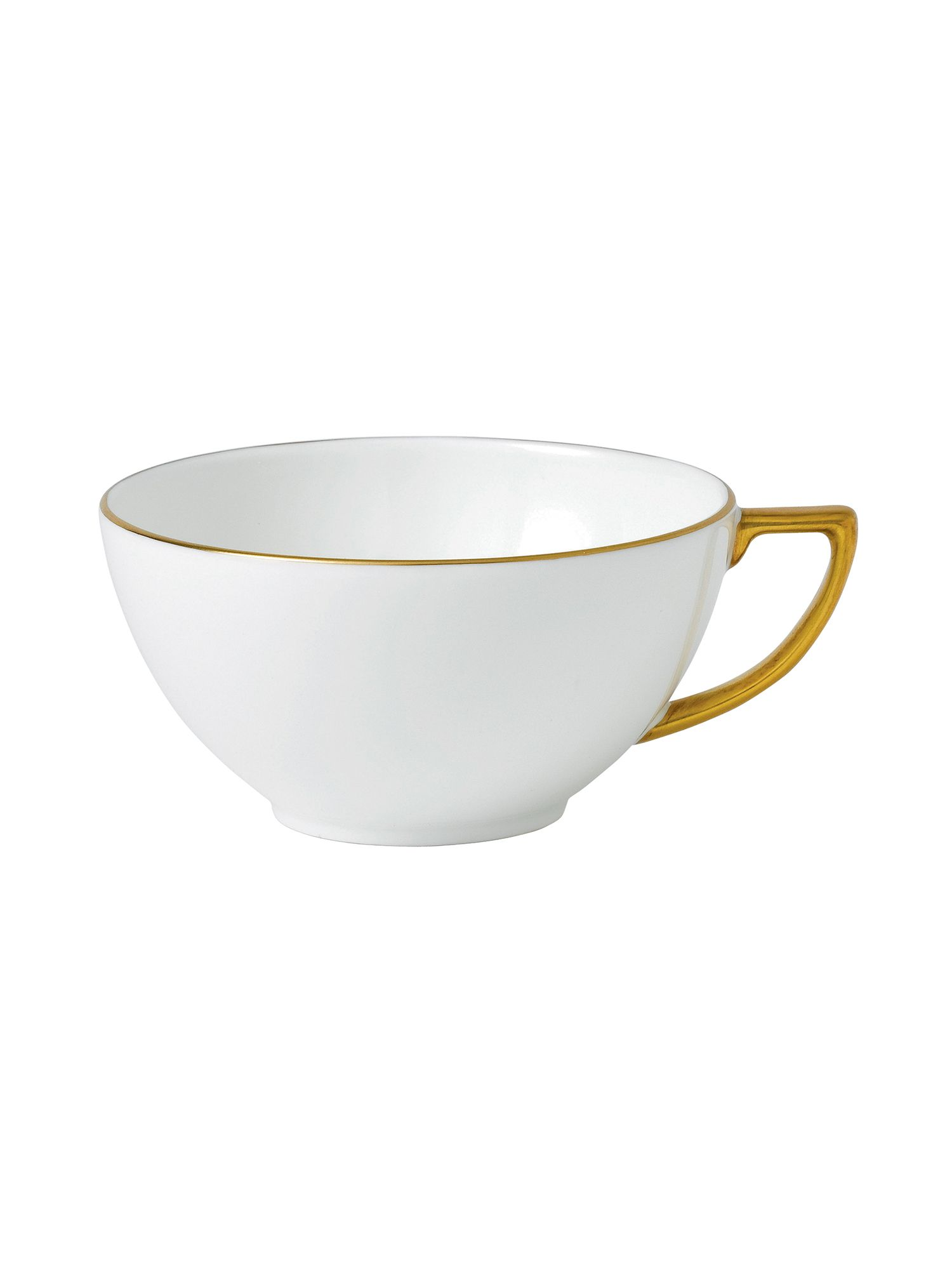 Jasper conran bone china gold tipped tea cup 0.23