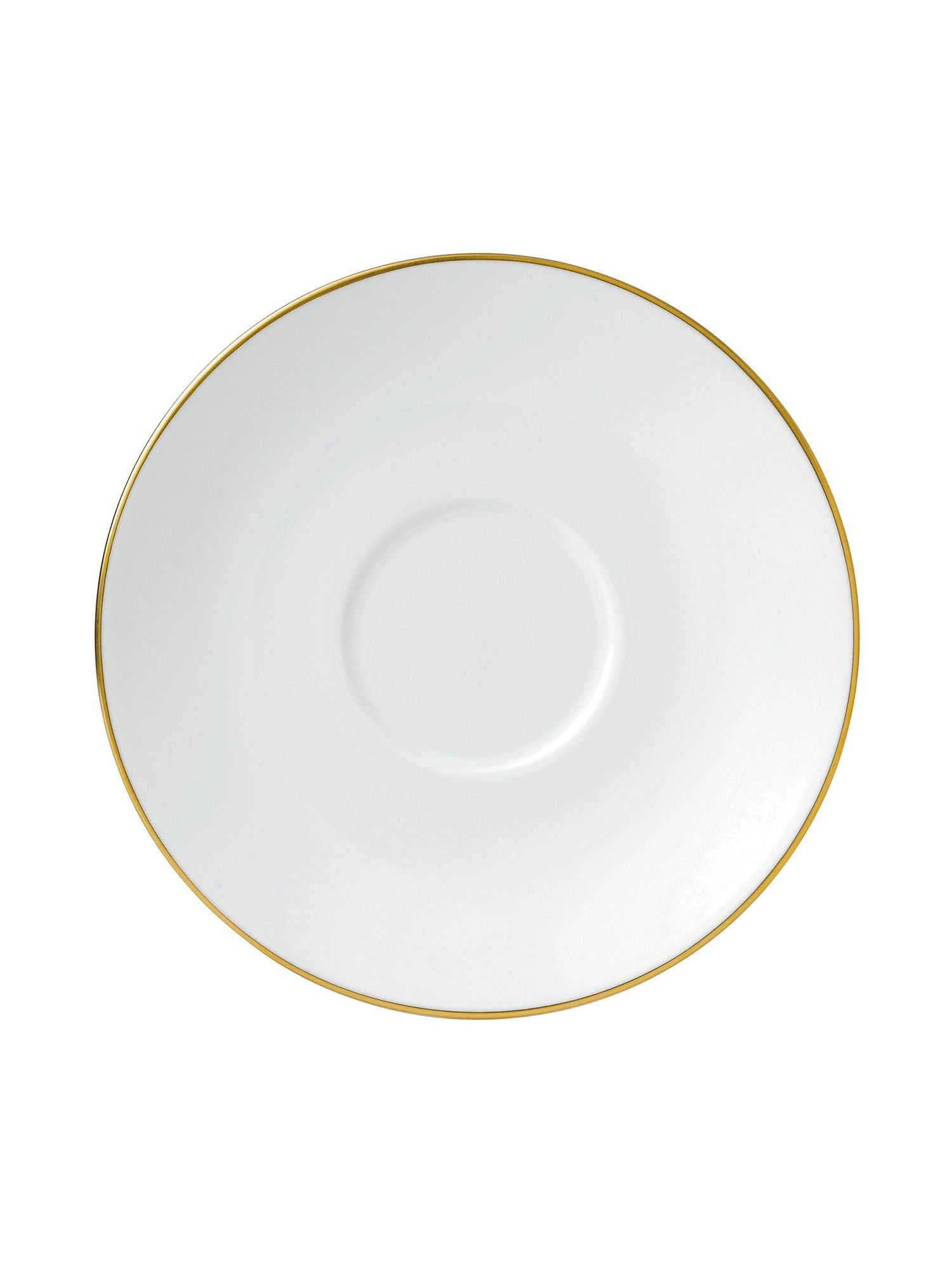 Jasper conran bone china gold tipped tea saucer