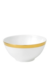 Wedgwood Jasper conran bone china gold banded gift bowl