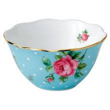 Royal Albert Polka blue bowl 11cm/4.5in