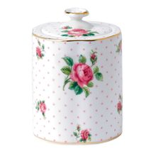 Royal Albert Pink roses tea caddy
