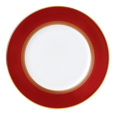Wedgwood Renaissance red plate 20cm