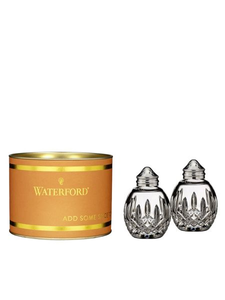 Waterford Giftology lismore round salt and pepper set - ora