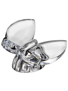 Waterford Giftology crystal butterfly collectible