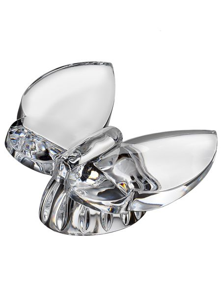 Waterford Giftology crystal butterfly collectible - daquiri