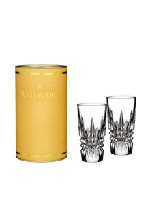 Waterford Giftology Lismore Diamond Crystal shot glass set