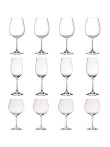 Marquis vintage wine glasses set of 12