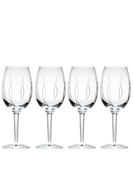 Waterford John rocha flow-weft goblet set of 4