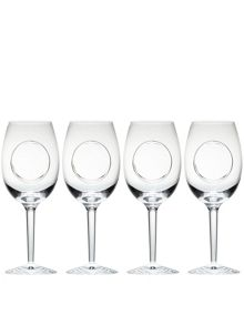 john rocha flow-circa goblet set of 4
