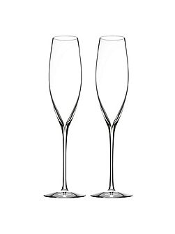 Waterford Elegance champagne classic flute, set of 2