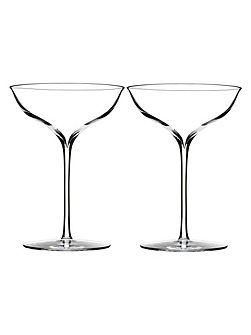 Elegance champagne belle coupe, set of 2