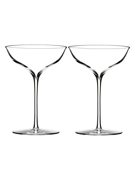 Waterford Elegance champagne belle coupe, set of 2