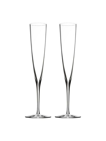Waterford Elegance champagne trumpet flute, set of 2