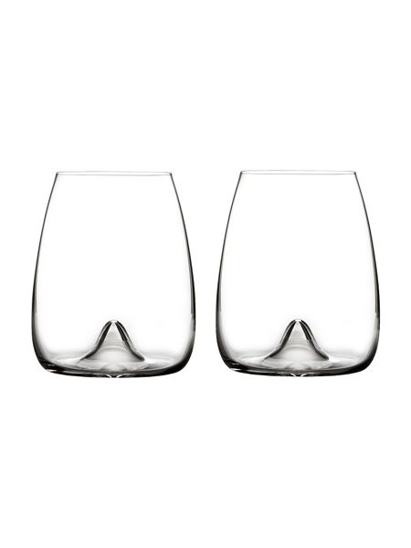 Waterford Elegance wine glass stemless, set of 2