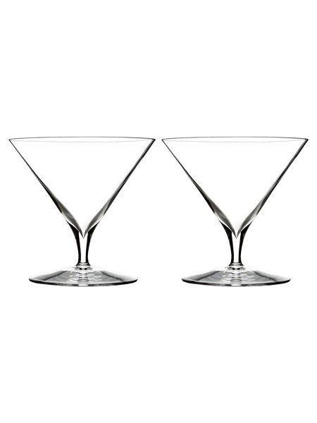 Waterford Elegance martini glass, set of 2