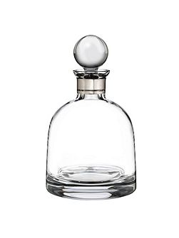 Elegance short decanter with stopper