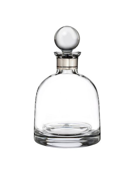 Waterford Elegance short decanter with stopper