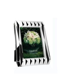 Vera wang peplum crystal picture frame