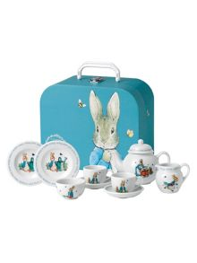 Peter rabbit children`s teaset