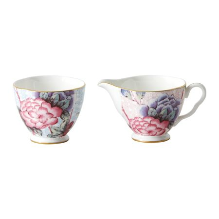Wedgwood Cuckoo large sugar pink & cream